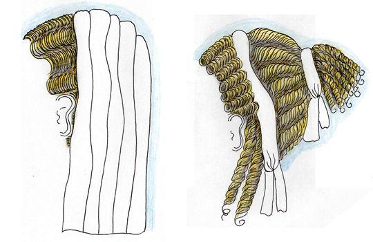 coiffure femme rome antique